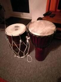 Pair of bongo's