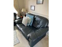 2 Leather Sofa