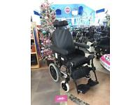 Invacare Rea Azalea Tilt in Space / Reclining Wheelchair, Elevating Legrests