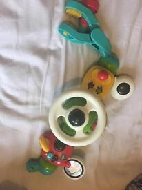 Baby toy for pushchair
