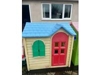 Can deliver little tikes tykes toy play Wendy house country cottage with kitchen sink & hob