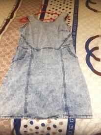 Denim dress 14