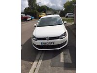 VOLKSWAGEN POLO 1.2 MATCH EDITION 5DR, White, Manual, Petrol, 2013