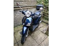 Piaggio Liberty 125 2012 Metallic Blue Colour