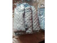 Brand new vib cot and drape set