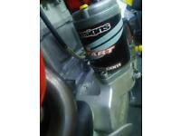 Super rare electric start kit for a Honda XR650R