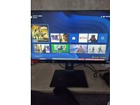 Xbox 1 Series S and gaming monitor