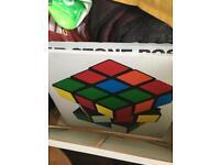 Rubix cube canvas