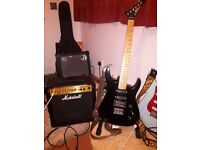 Zak pro line profesional & marshall mg 15cd & case