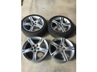 Lexus Toyota IS 200/IS300 17in alloy wheels