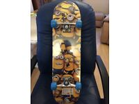 Despicable Me Minion Made Maple Skateboard new in original packaging