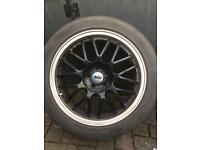 "17"" ZCW alloys 5x100 fits seat vw"