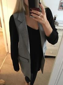Topshop NEW sleeveless Jacket size10 SOLD