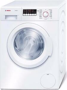 Ensemble laveuse-sécheuse 24'', Blanc, BOSCH