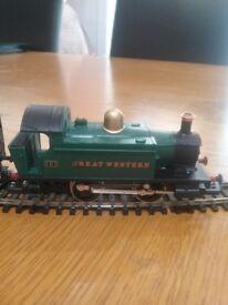 Hornby steam passenger coach set