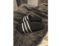 Adidas slides size 8