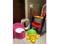 Potty training - potties, training by ladder, seat