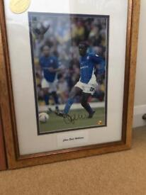 Signed Ipswich town pictures
