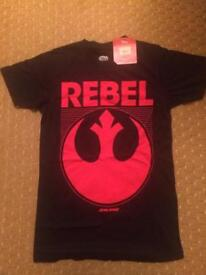 STAR WARS Disney t-shirts for sale BRAND NEW WITH TAGS SMALL