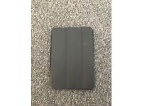 Genuine Apple iPad mini case - black leather!