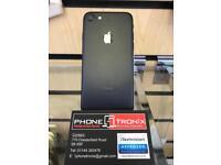 iPHONE 7 32GB, WITH SHOP RECEIPT & WARRANTY, [MATTE BLACK]