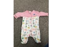 Bundle of Baby girls first size/new baby clothes