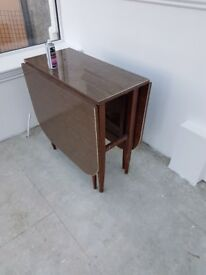 Old fashion butterfly table.