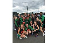 Adult netball Players wanted for Saturday matches