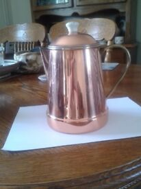 """marks & spensers """"harvest"""" collection copper-coffee-pot"""