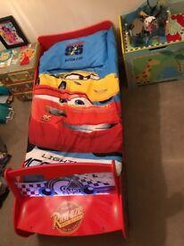 Disney Cars Light Up Toddlers Bed Matress