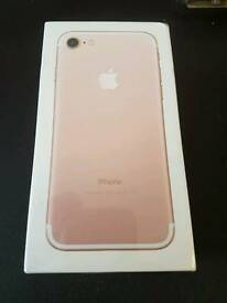 Iphone 7 128gb BRAND NEW SEALED