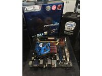 Motherboard & CPU combo. Asus Socket 775 Motherboard & 3ghz Intel Core 2 Extreme QX6850 CPU
