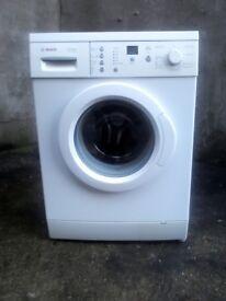 Bosch washing machine great condition .
