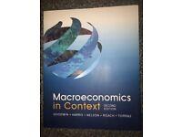Macroeconomics in Context (second edition) [Goodwin, Harris, Nelson, Roach, Torras]