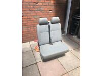 VW t5 transporter double front cab seat Cardiff - good condition