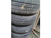 Vito wheels tyres