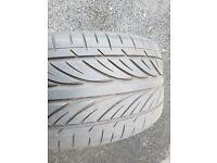 255/35/18 hankook ventus tire part worn like new 6 mm tread £30
