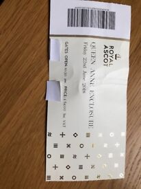Royal Ascot - Queen Anne Enclosure Ticket (Friday 22nd June 2018)