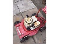 old type petrol mountfeild lawnmower unable to start