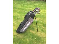 Junior golf bag & clubs
