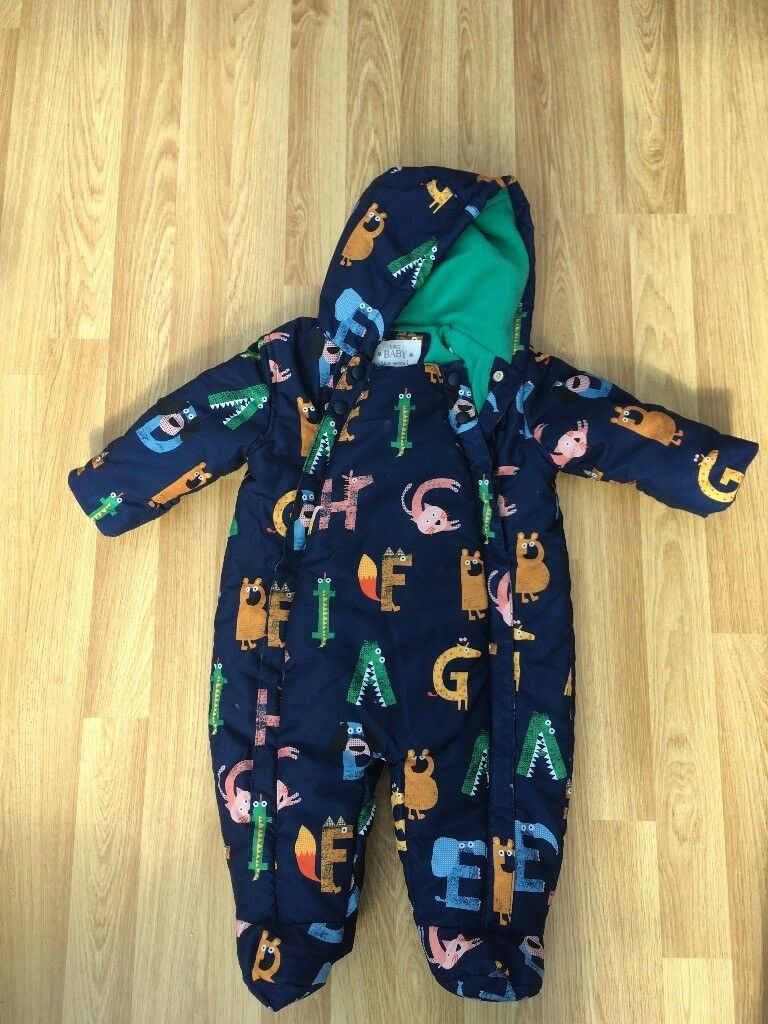 ff6d71eebe50 Baby boys snow suit