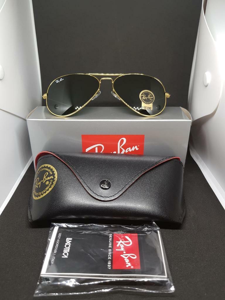 c50903183024 Ray-ban aviator sunglasses green lens. Heathrow
