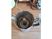 Aluminium coffee pot