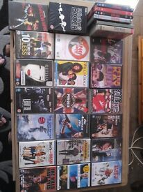 27 dvds and Blu Rays