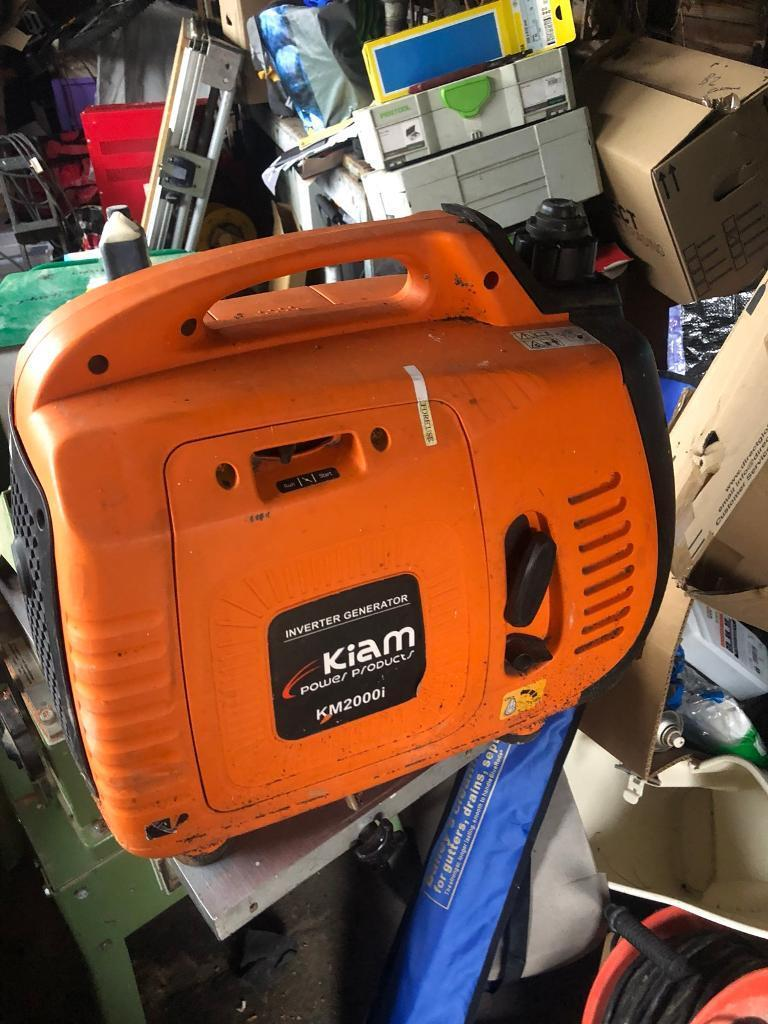 Kiam 2000w sine wave generator | in Holt, Norfolk | Gumtree