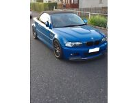 Bmw m3 convertible 3.2 manual 338bhp px swap