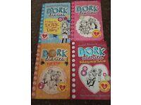 4 Rachel Renee Russell Dork Diaries books