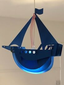Pirate ship lightshade