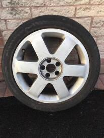 Audi TT Ronal 17inch Alloy Wheel