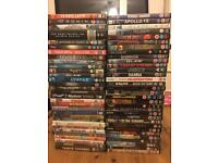 64 good condition DVD's